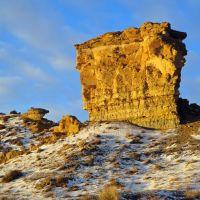Flat iron rock, Киртленд