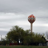 Clayton, New Mexico water tower, Клейтон