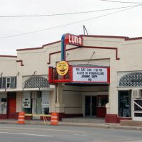 Movie Theater in Clayton, New Mexico, Клейтон