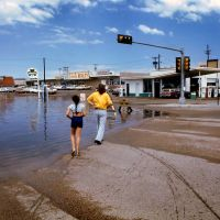 USA,Clovis,New Mexico,after the rain( 1976), Кловис