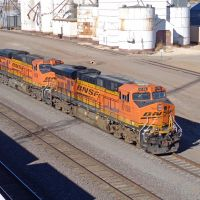 BNSF 6158  Clovis, NM, Кловис
