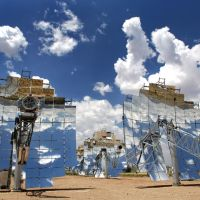 National Solar Thermal Test Facility (NSTTF) Kirtland AFB New Mexico, Корралес