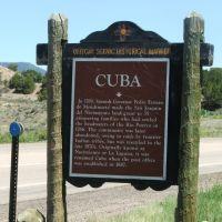Cuba, New Mexico, Куба
