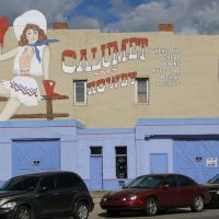 Calumet says Howdy, in Las Vegas, New Mexico, Лас-Вегас