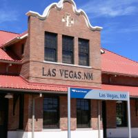Las Vegas Amtrak, New Mexico, Лас-Вегас