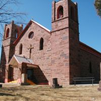 Old Church, W.Las Vegas,NM, Лас-Вегас