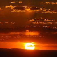 albuquerque, sunset, Лас-Крукес