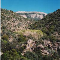 Cañon del Agua, Sandia Mountains, Лас-Крукес