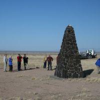 Obelisk, Trinity, White Sands Missle Range, New Mexico, Лас-Крукес