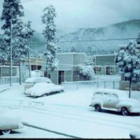 Winter Los Alamos NM, Лос-Аламос