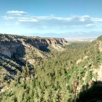 Scenery from South Canyon Rim Trail, Los Alamos, NM, Лос-Аламос