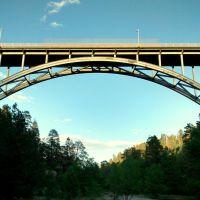 Omega Bridge, Los Alamos, NM, Лос-Аламос