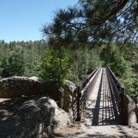 Pueblo Canyon Bridge, Лос-Аламос