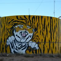 Storage tank in Los Lunas, NM, Лос-Лунас