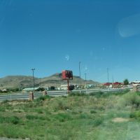 Passing Los Lunas I25 South, Direction Socorro and El Paso TX, Лос-Лунас