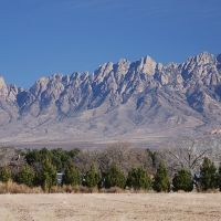 Organ Mountains from Mesilla, Месилла
