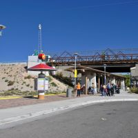 Los Ranchos/Journal Center station on the New Mexico Rail Runner Express commuter rail line., Норт-Валли