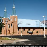 Route 66 - New Mexico - Albuquerque - New Town -  Church Nativity of the Blessed Virgin Mary, Норт-Валли