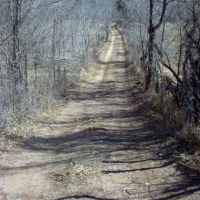 Dirt Road at Saint Anthonys / Pecos, Пекос