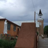 2013 - Tour de Force of Adobe and Stone Masonry, St. Anthonys Catholic Church, Pecos, NM, Пекос
