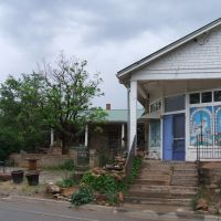 2013 - N Main St/NM 63 - A Stone Home With Murals Expressing Faith, Pecos, NM, Пекос