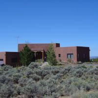 House in Taos, Ранчос-Де-Таос