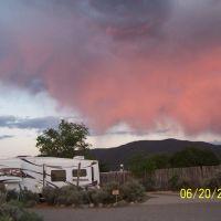 Pink cloud of Taos, Ранчос-Де-Таос