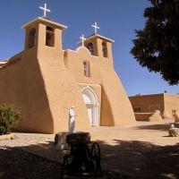 San Francisco De Asis Catholic Church, Rancho De Taos, Ранчос-Де-Таос