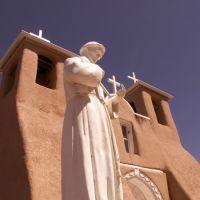 San Francisco de Asis Church, Ranchos de Taos, New Mexico, Ранчос-Де-Таос