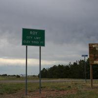 Roy - Elevation 5900 ft., Рой
