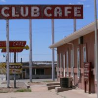 Club Cafe on Route 66, Santa Rosa, New Mexico, Санта-Роза
