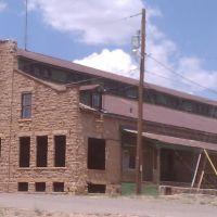 Railroad Freight Warehouse at Santa Rosa, NM, Санта-Роза