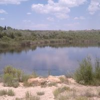 Power Dam Lake, Santa Rosa, NM, Санта-Роза