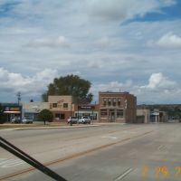 At one time, there was a lively bustle of thriving businesses in Santa Rosa NM.  The charm of Route 66 was overshaddowed by the interstate highway system., Санта-Роза