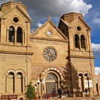 Cathedral Basilica of Saint Francis of Assisi, Santa Fe, New Mexico, USA, Санта-Фе