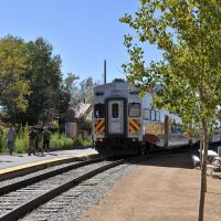 The Rail Runner Train at the Santa Fe Station., Санта-Фе