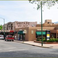 Santa FE NM - old Town, Санта-Фе