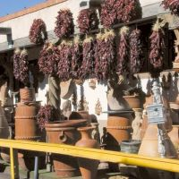 Winter 2000 - sun dried red pepers of New Mexico, Санта-Фе