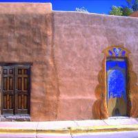 Portes typique du Nouveau Mexique, Санта-Фе