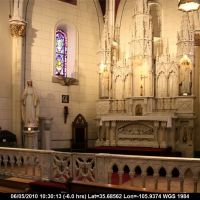 Route 66 - New Mexico - Santa Fe - Loretto Chapel - The altar, Санта-Фе