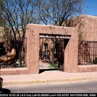 Route 66 - New Mexico - Santa Fe - Art Gallery, Санта-Фе