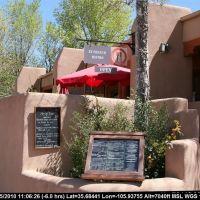 Route 66 - New Mexico - Santa Fe - A French (?) Bistro, Санта-Фе