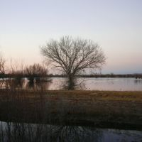 Sunset at Bosque del Apache National Wildlife Refuge - New Mexico, Саут-Вэлли