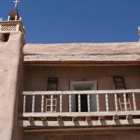 Tipica construcción de Taos, Таос