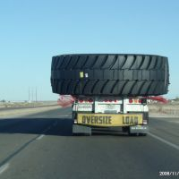 Oversize Load Truck - US 82 Lovington Hwy, Татум