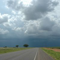 Seminole, Texas towards Hobbs, NM, Татум