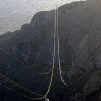 Sandia Peak Tramway Albuquerque, New Mexico, Тийерас