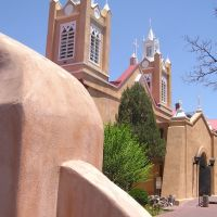 San Felipe de Neri Church, Old Town Albuquerque, Тийерас