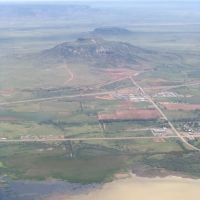 Arial view of Tucumcari New Mexico, Тукумкари