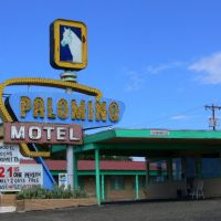 Palomino Motel on Route 66, Tucumcari, New Mexico, Тукумкари
